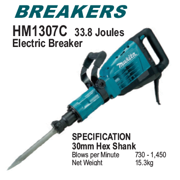 Jack Hammers and Breakers